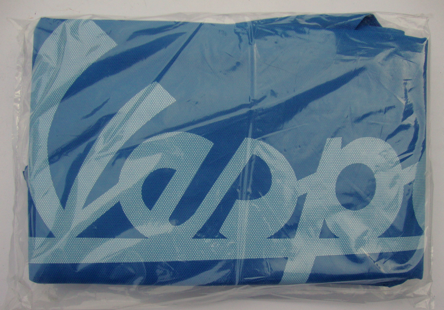 Dust cover for Vespa, blue