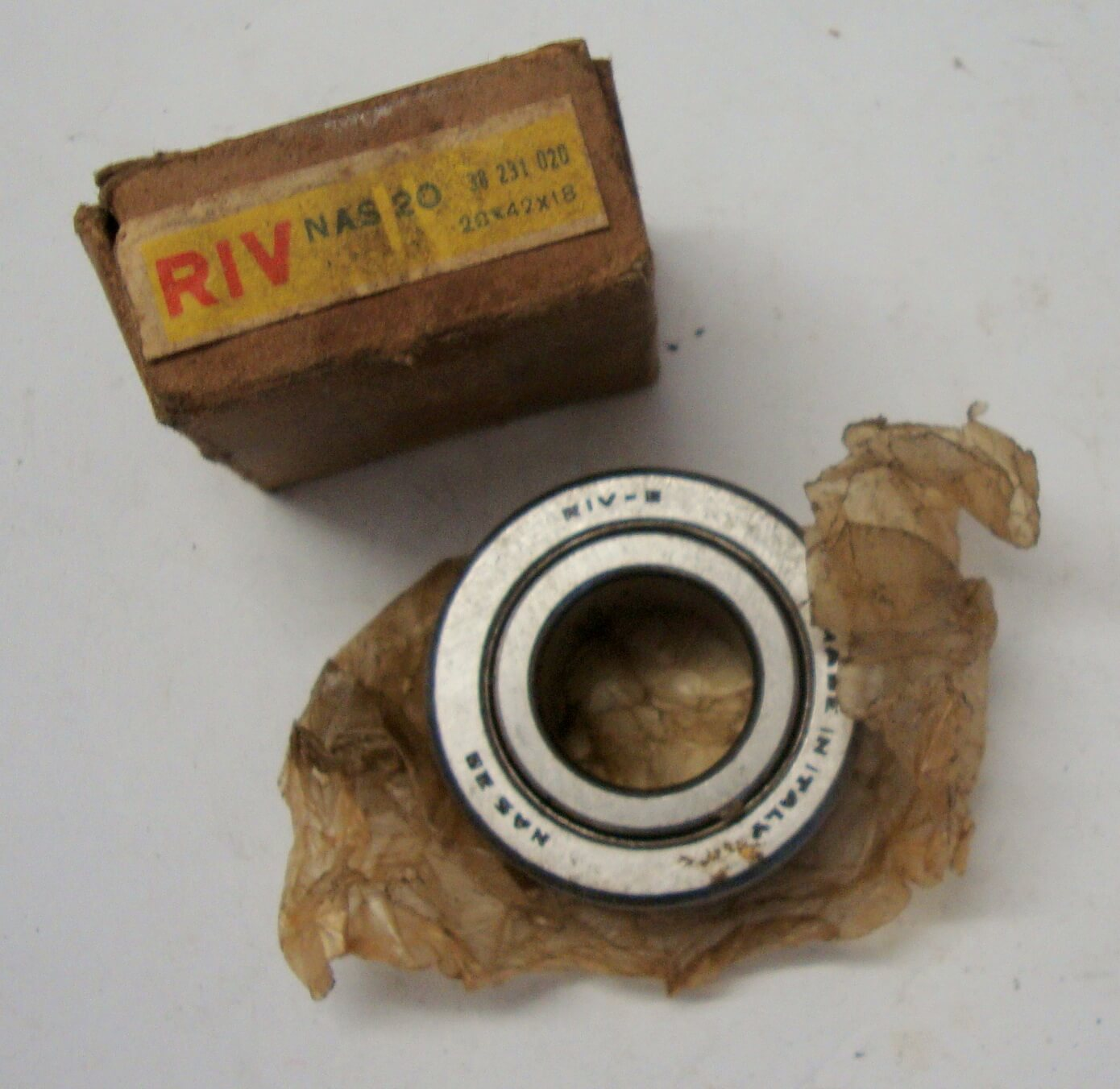 Bearing for drive shaft, wheel side, RIV, Vespa GS 150 / GS 1>3, NOS