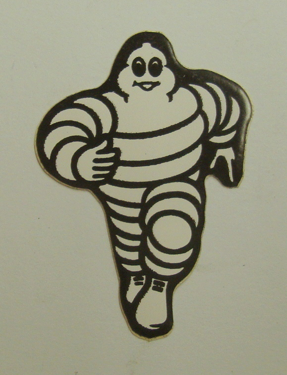 Sticker, MICHELIN MAN