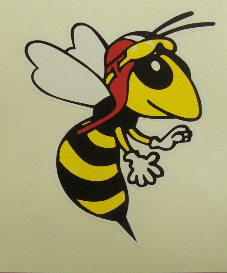 Sticker WASP