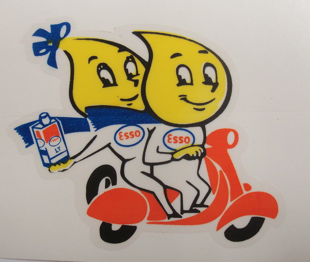 Sticker, ESSO COUPLE