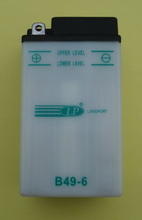 Battery 6V / 8Ah, Vespa GS 160 / SS 180 / 180 Rally / 200 Rally / Ape 125