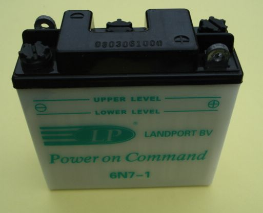 Battery 6V / 7Ah, Vespa 125 - 150