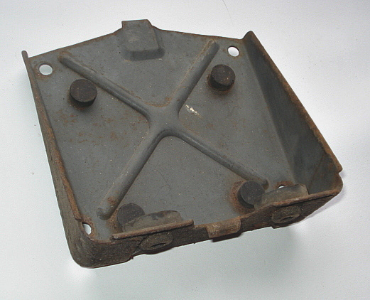 Battery mount, Vespa PX, used