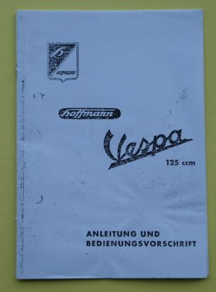 Manual Hoffmann Vespa