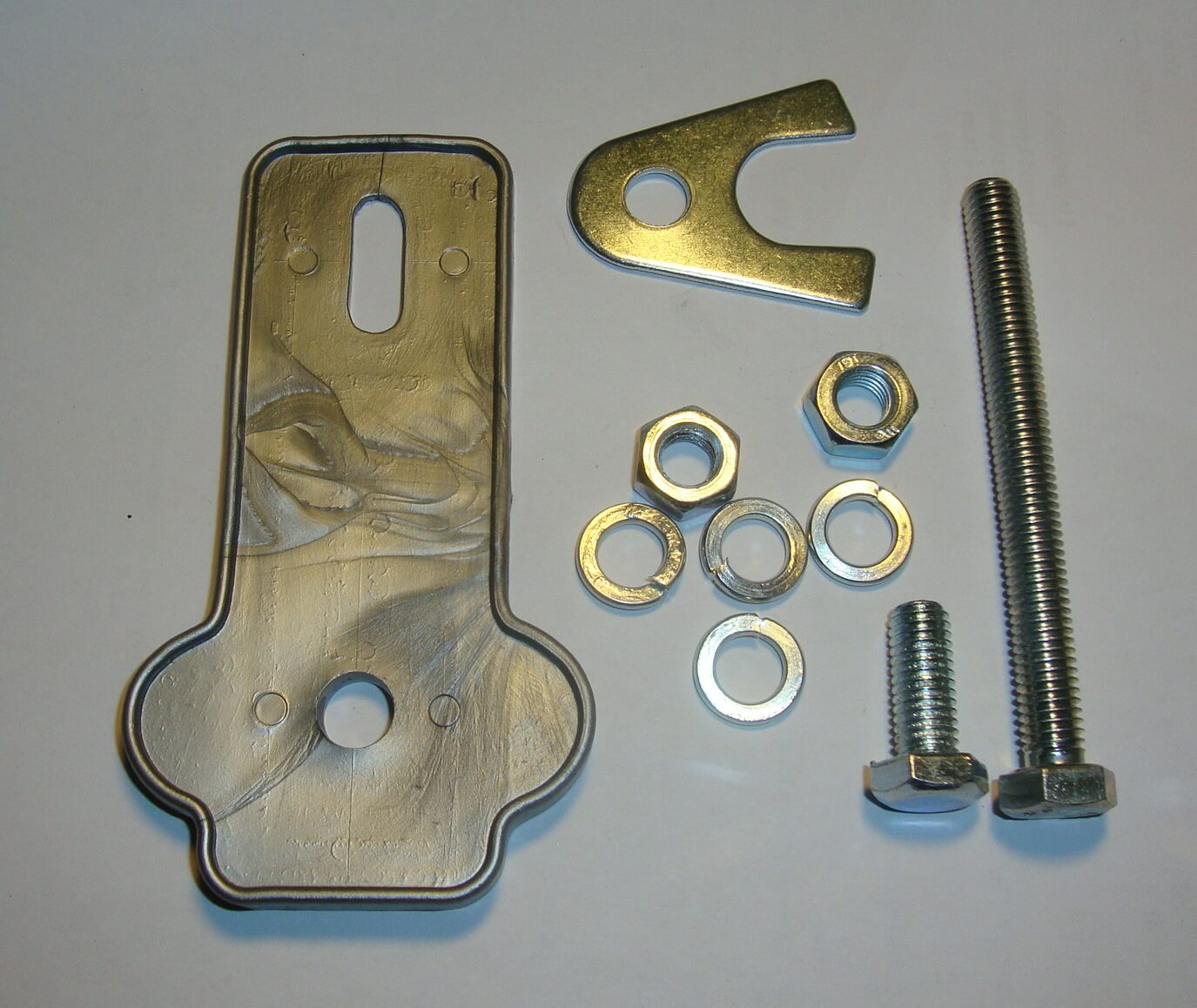 Spare wheel holder,  mounting kit, F.A ITALIA,Vespa 50 / 90 / 125 / PV / ET3 / TS / GT / GTR / Sprint