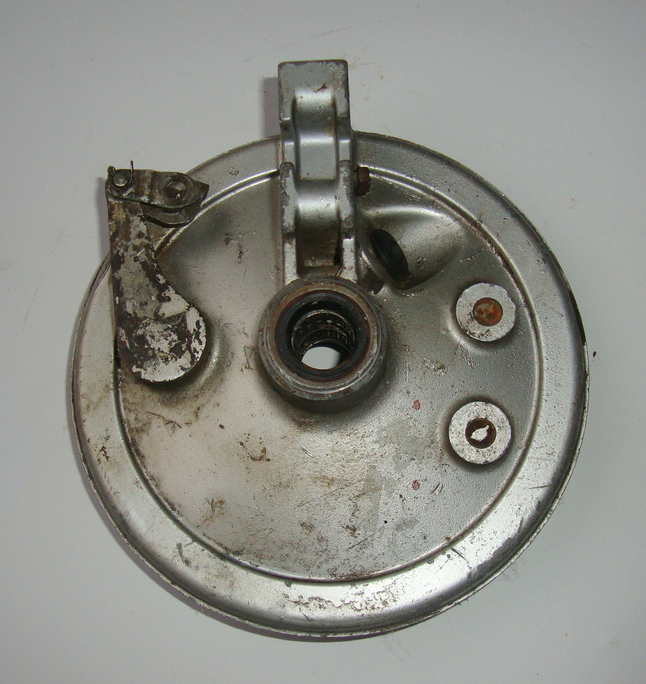 Brake base plate, 20 mm, Vespa PX
