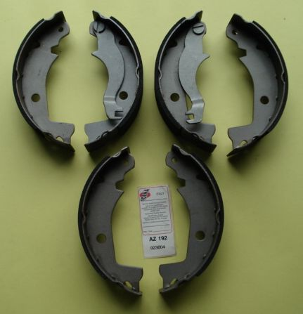 Brake shoes, NEWFREN,Ape MP / MPV, GF 0166/7