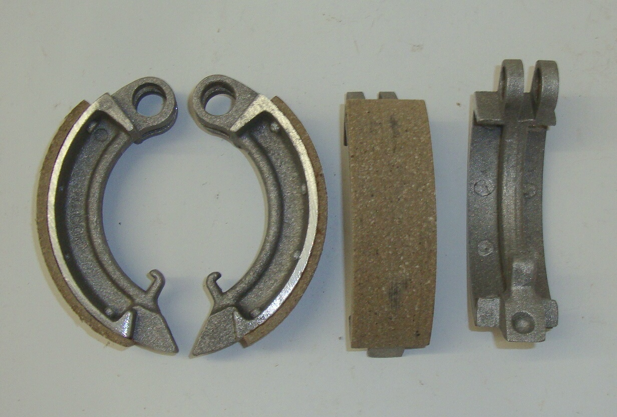 Brake shoes, Ape, AB / AC / Pentaro, AZ 26, NOS