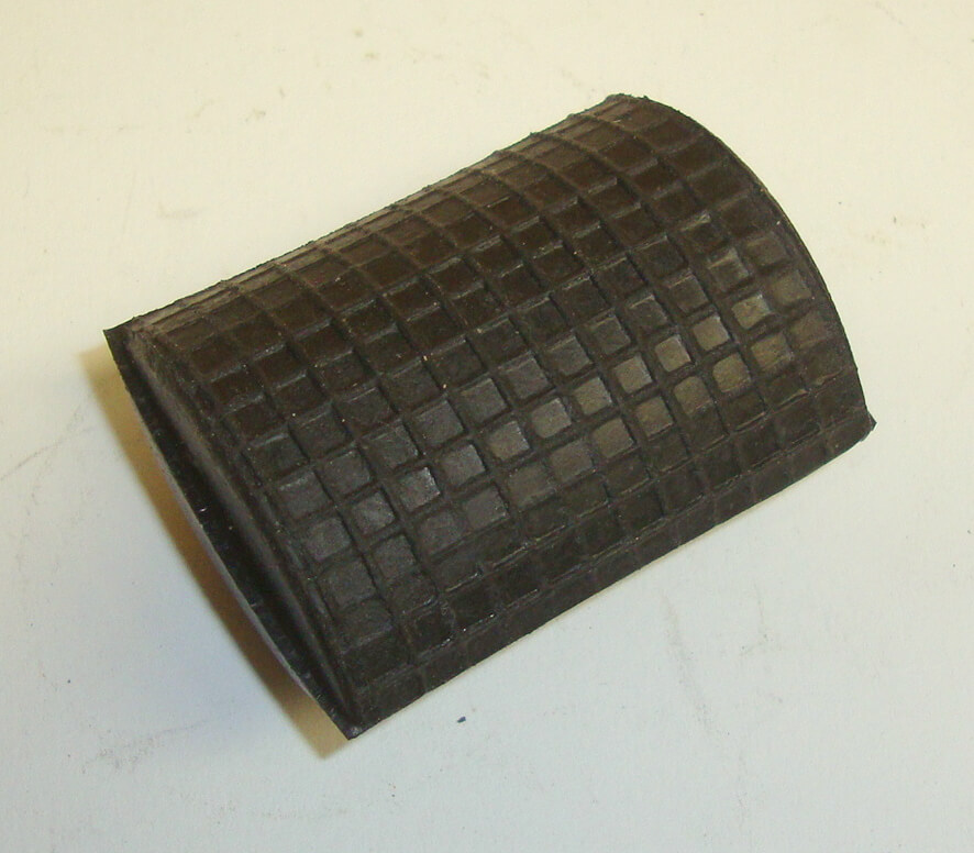 Rubber for brake pedal