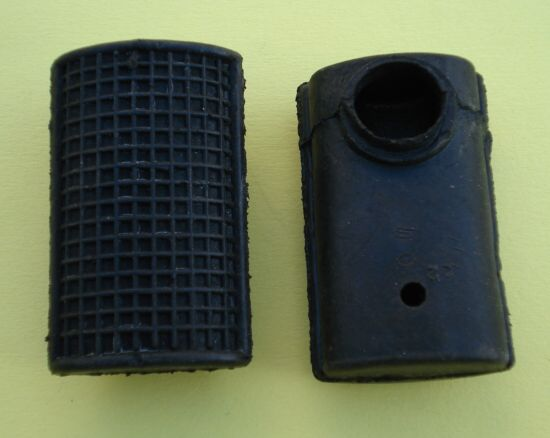 Rubber for brake pedal, Vespa 50 / 90 / 125 Primavera / ET3