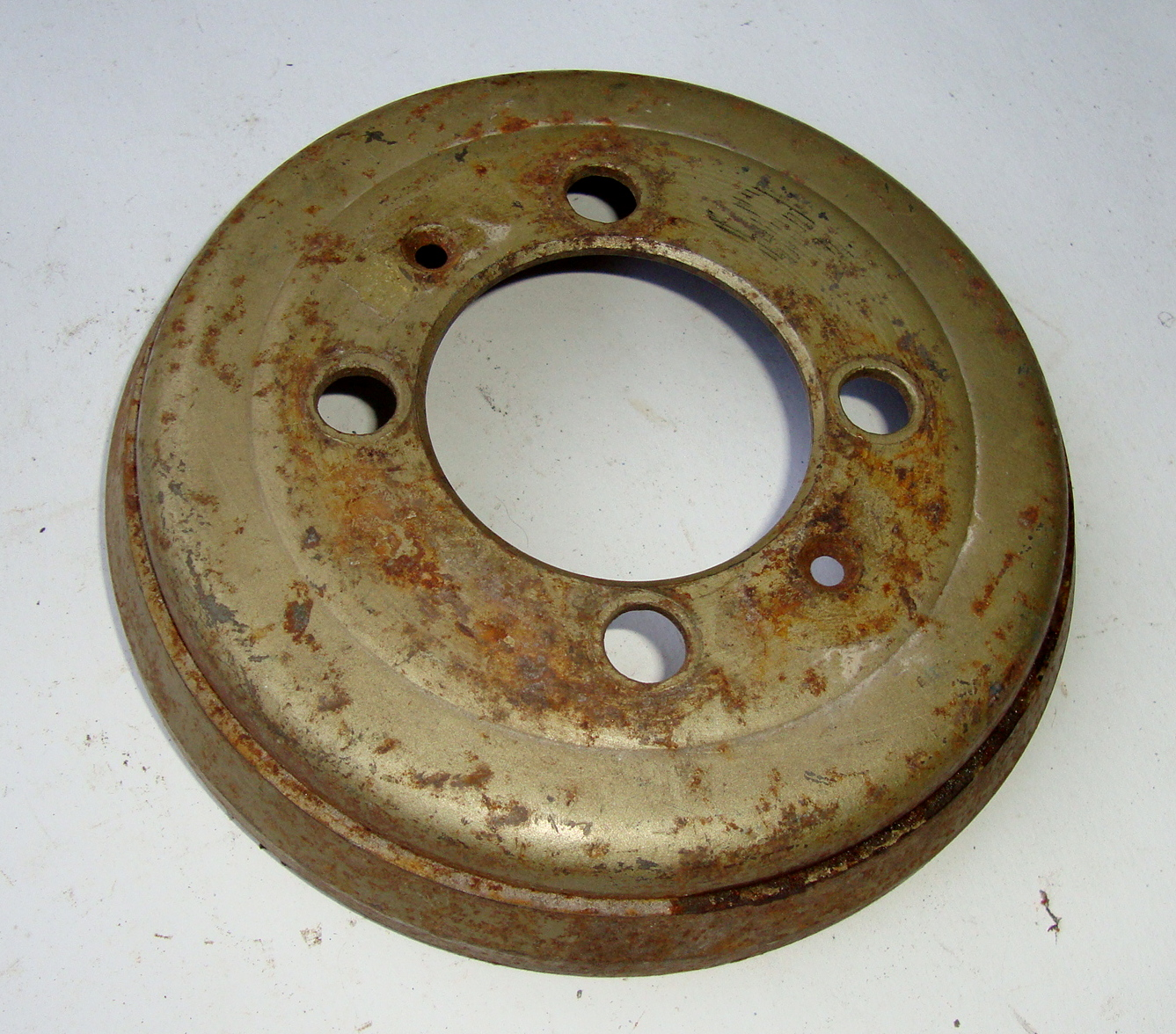 Front brake drum, Hoffmann Vespa 150 K�nigin, NOS