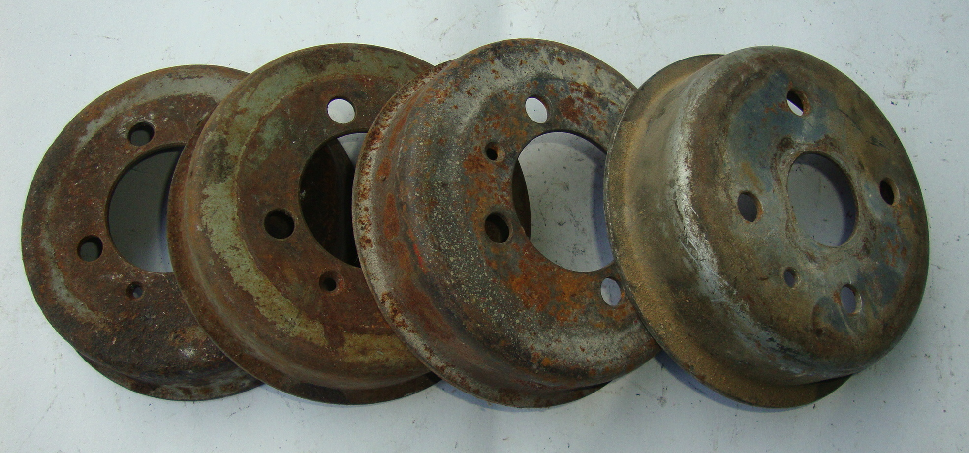 Rear brake drum, steel, Vespa 125 / 150