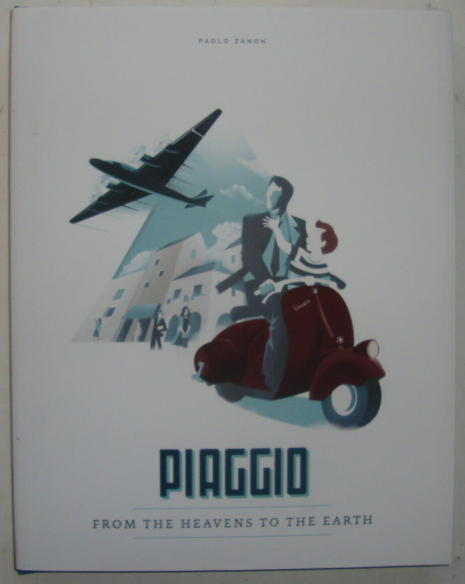 "Book ""Piaggio from the heavens to earth"