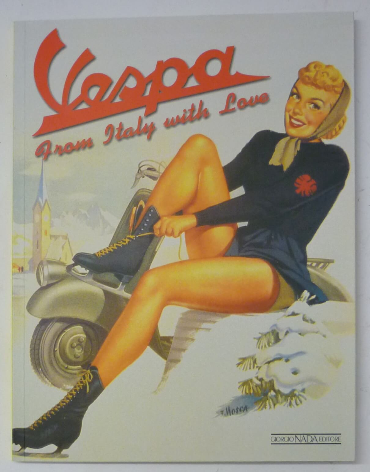 "Book ""Vespa from Italy with love"""