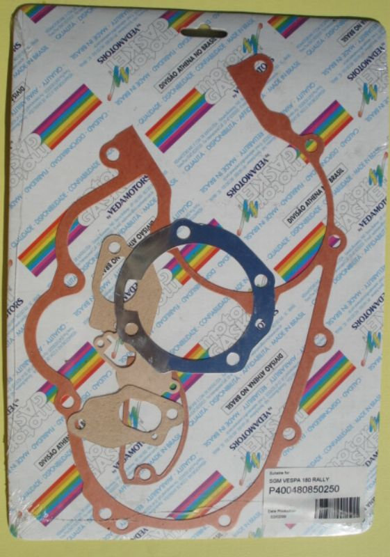 Gasket kit, Vespa 180 Rally