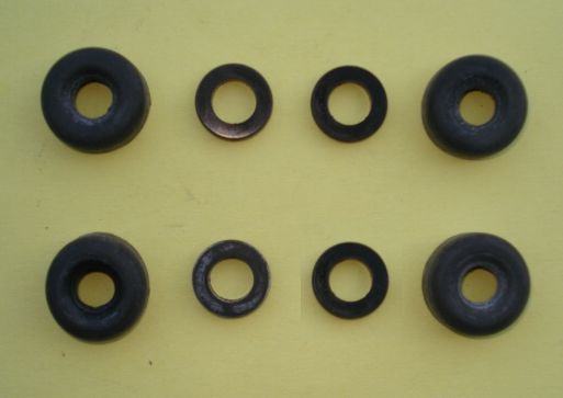Packing set for rear wheel brake cylinder, Ape 50 TM P 50 / FL 2