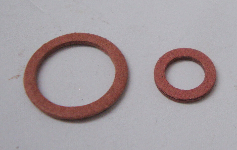 Sealing ring kit for house conection, SI carburettor