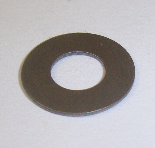 Spacer for front brake or clutch lever, top, Ø 14x6,6x0,6 mm, Vespa 50 / 90 / 125 / 150 / 160 / 180 / 200