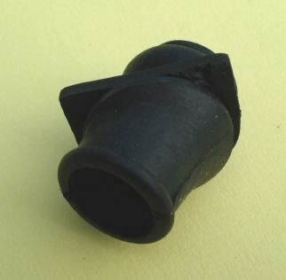 Grommet for petrol pipe trough air filter case