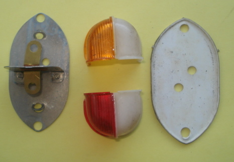 Spare parts Side light, plastic ?, Ape AB / AC