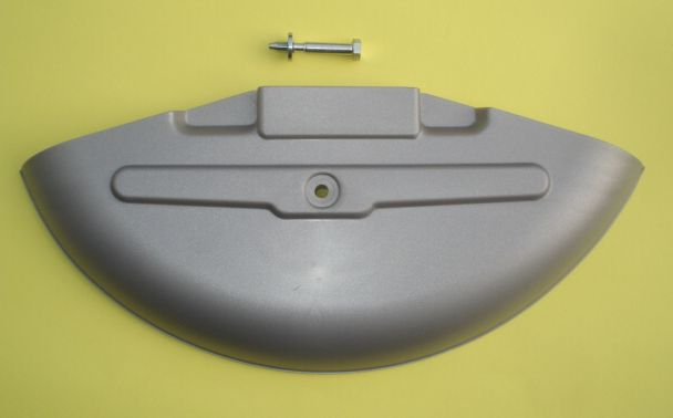 Spare wheel protection, plastic, Vespa 125 TS / Rally 180 - 200