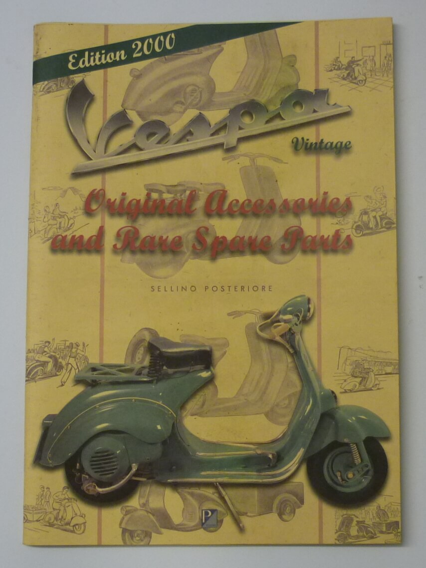 Spare parts catalogue, Vespa Vintage Edition 2000