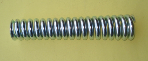 Spring front, Vespa 150 T1 > T4 / GS1 > GS3 / GL / Sprint 1, zinced, length 195 mm