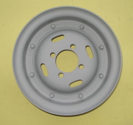 "Wheel rim 8"", 4.00 x 8, closed whit holes, Ape"