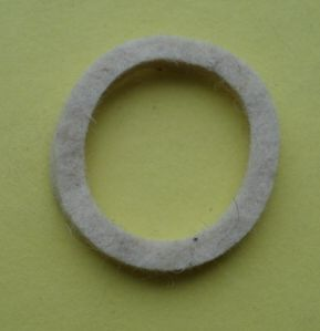 Gasket for pipe union
