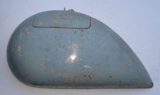 Side panel for spare wheel side, light blue, Vespa 125 ACMA - Hoffmann