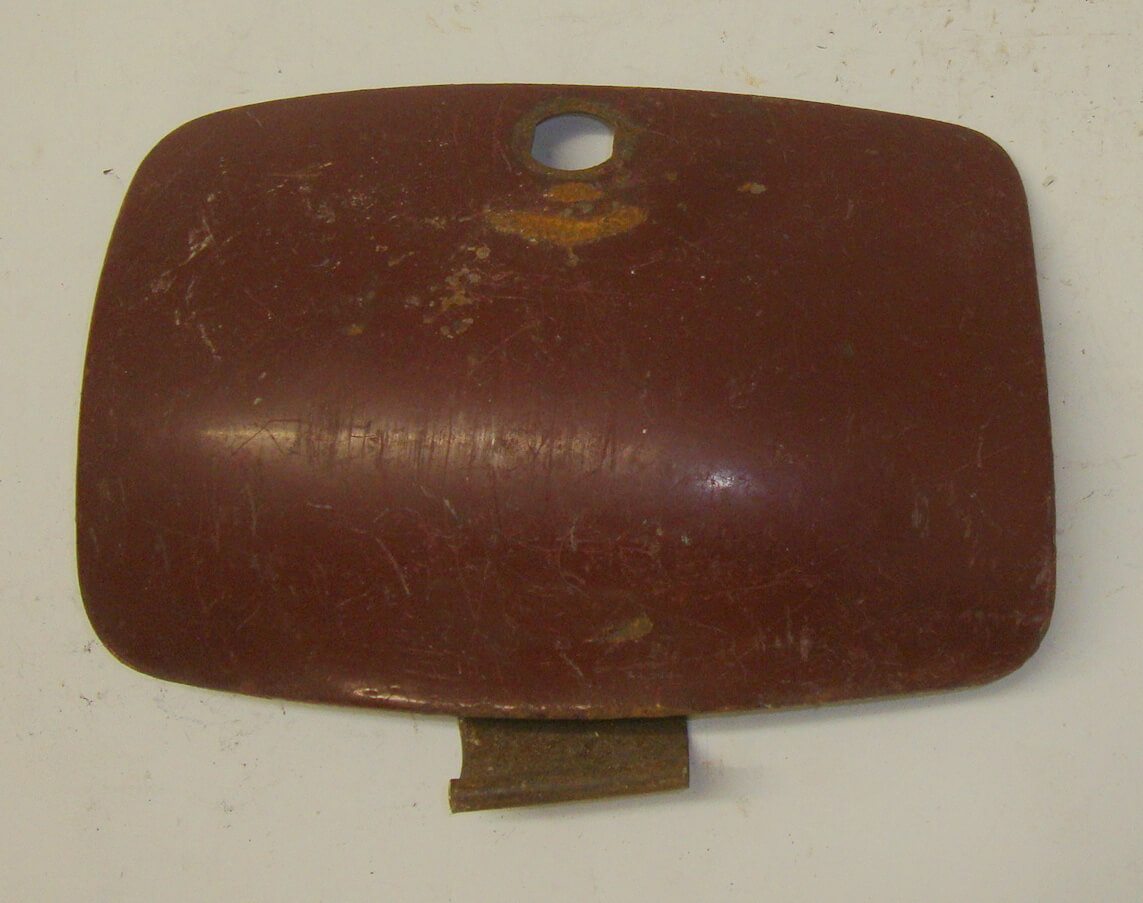 Flap spare wheel side panel, Hoffmann Vespa