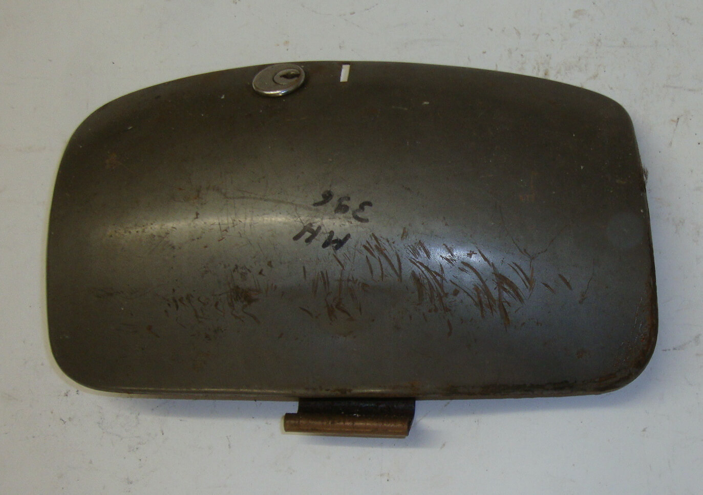 Flap spare wheel side panel, Vespa 125 VNB / 150 VBB - VBA - VGLA - VGLB