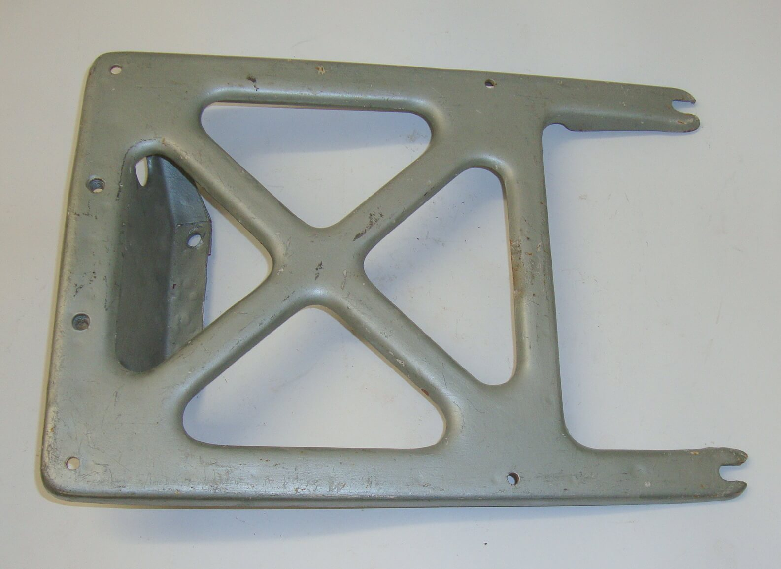 Rack, plate carrier,Vespa 125 VU1T - VM1T > VM2T, used