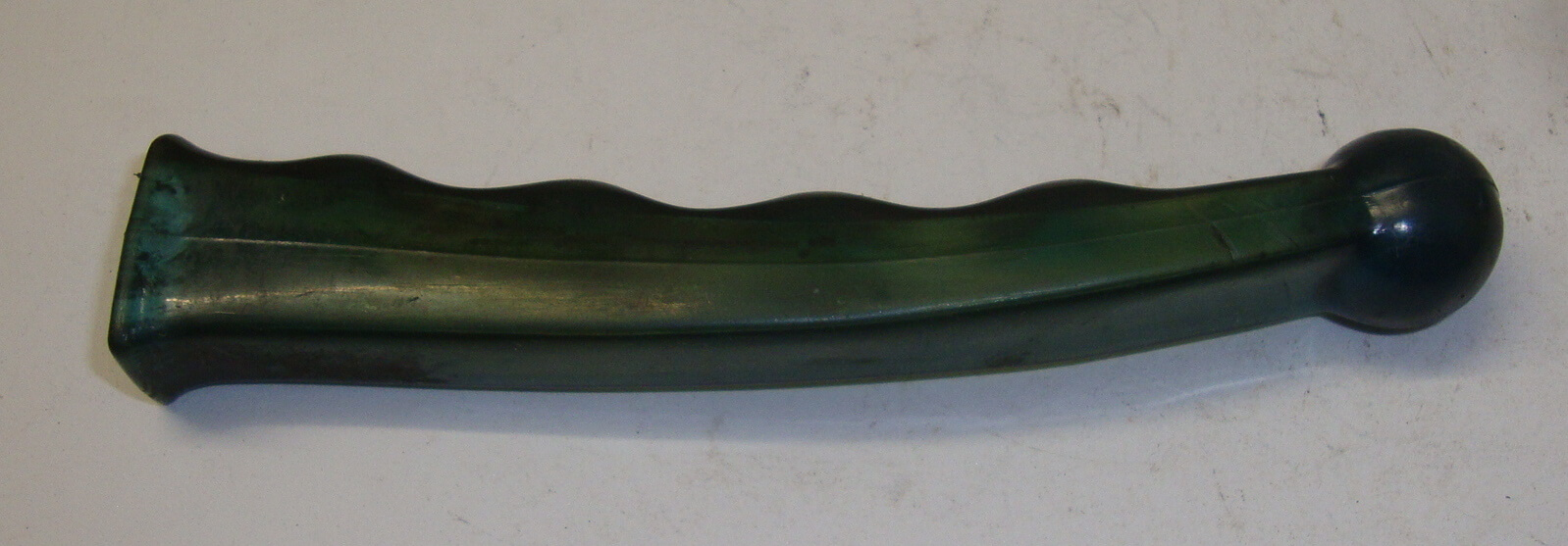 Lever protection, green transparent, METALPLAST 603, Vespa, NOS