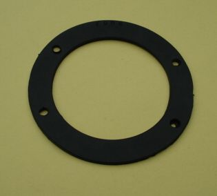 Gasket for horn, 2 mm, black