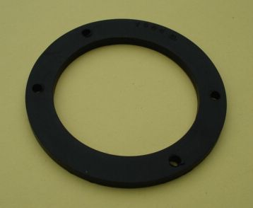 Gasket for horn, 5 mm, black