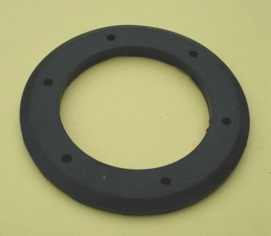 Gasket for horn, Vespa 50 / 90 / 125 / PV / ET3 / Ape 50 - 250, black