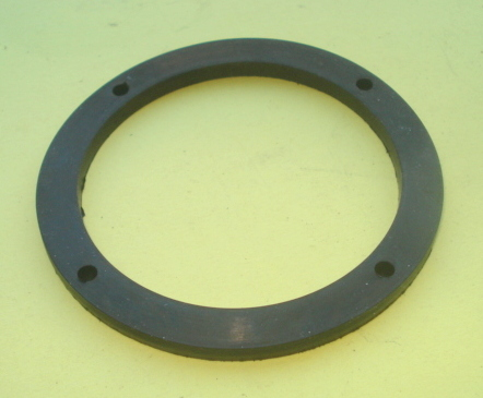 Gasket for horn, 4 mm, black, Vespa Rally / Sprint German modell