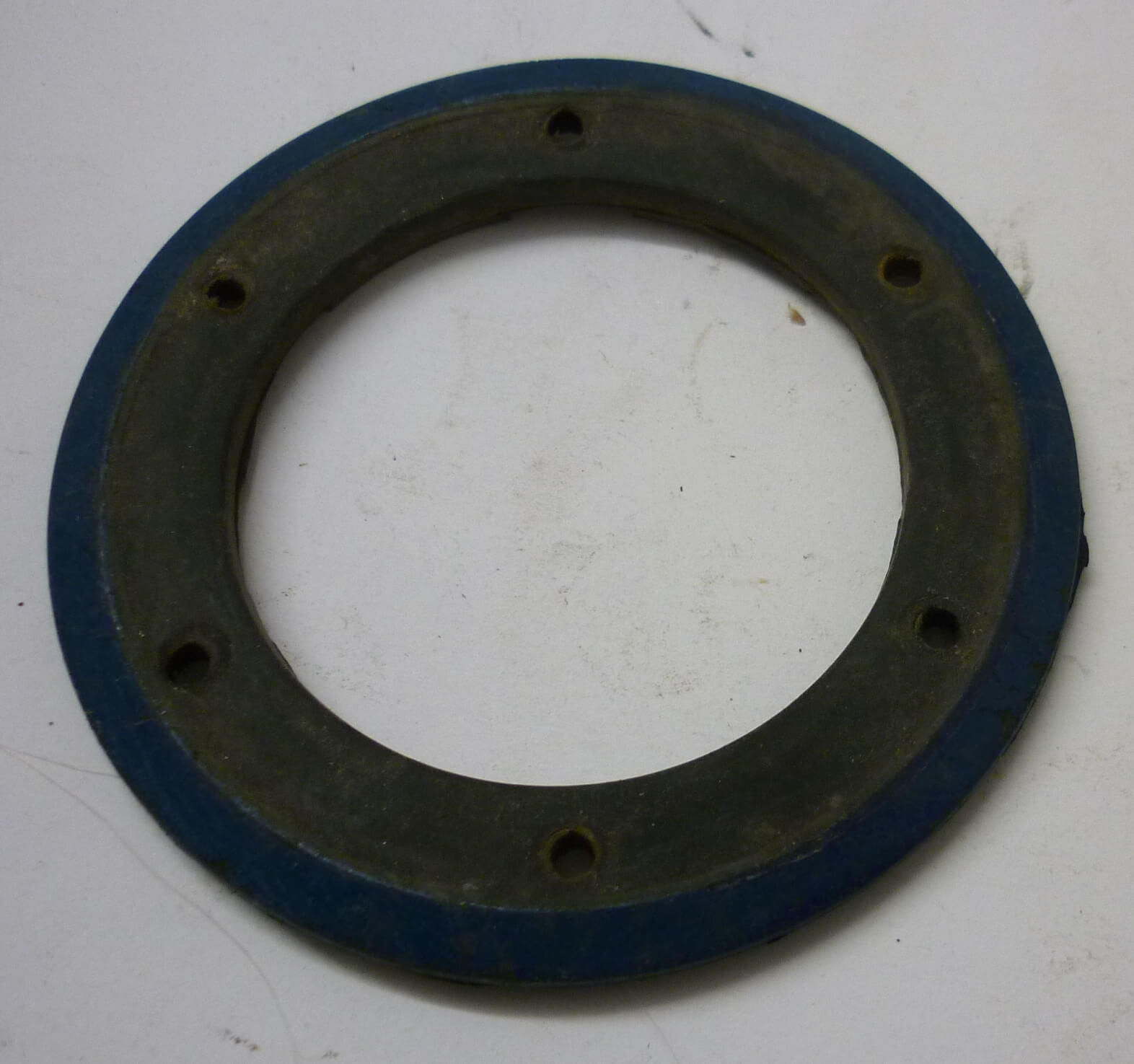 Horn gasket, black-blue, Vespa 125 / 150 / 180 / 200, used