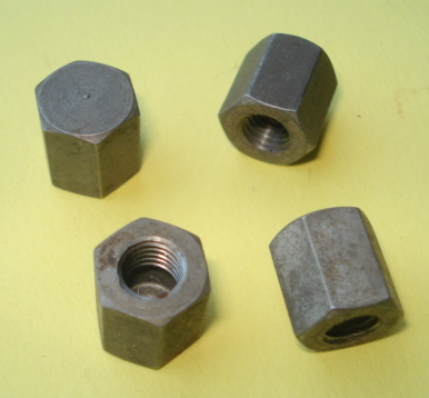 Hexagon cap nuts , engine case, M 7