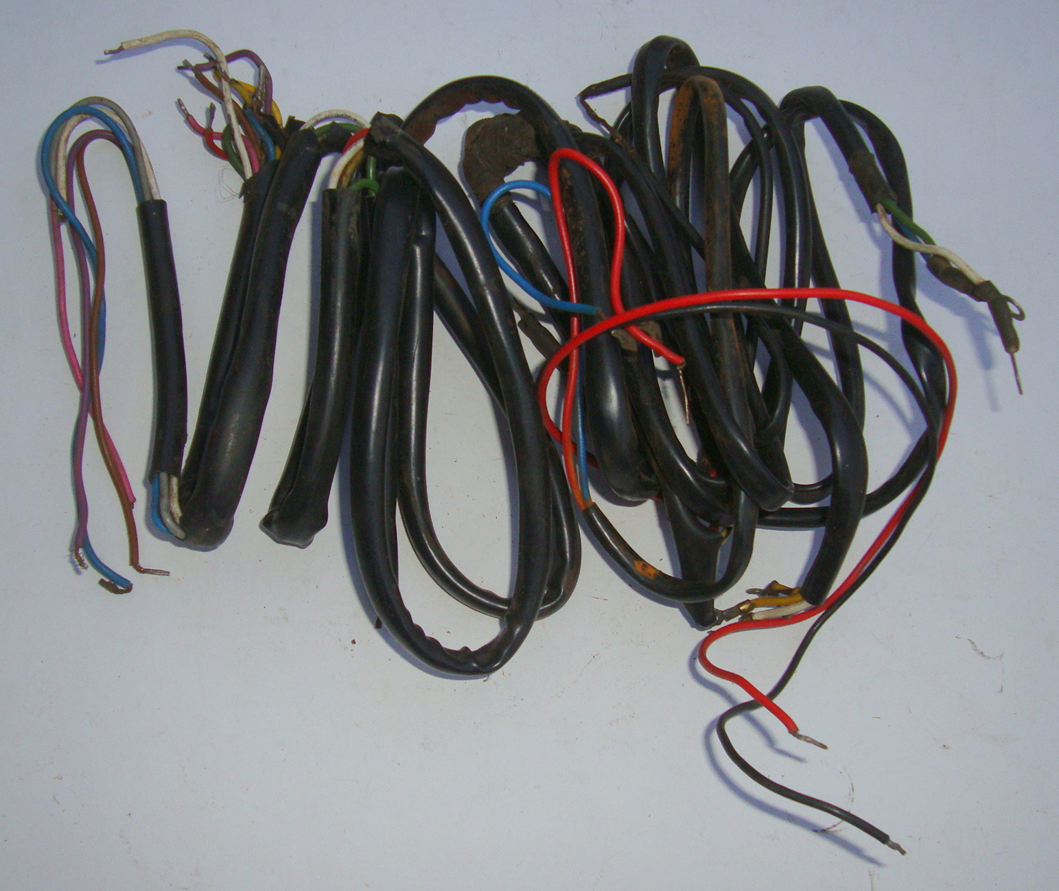 Cable harness, used, Vespa 125 GT/GTR / 150 Sprint VLB1T with battery