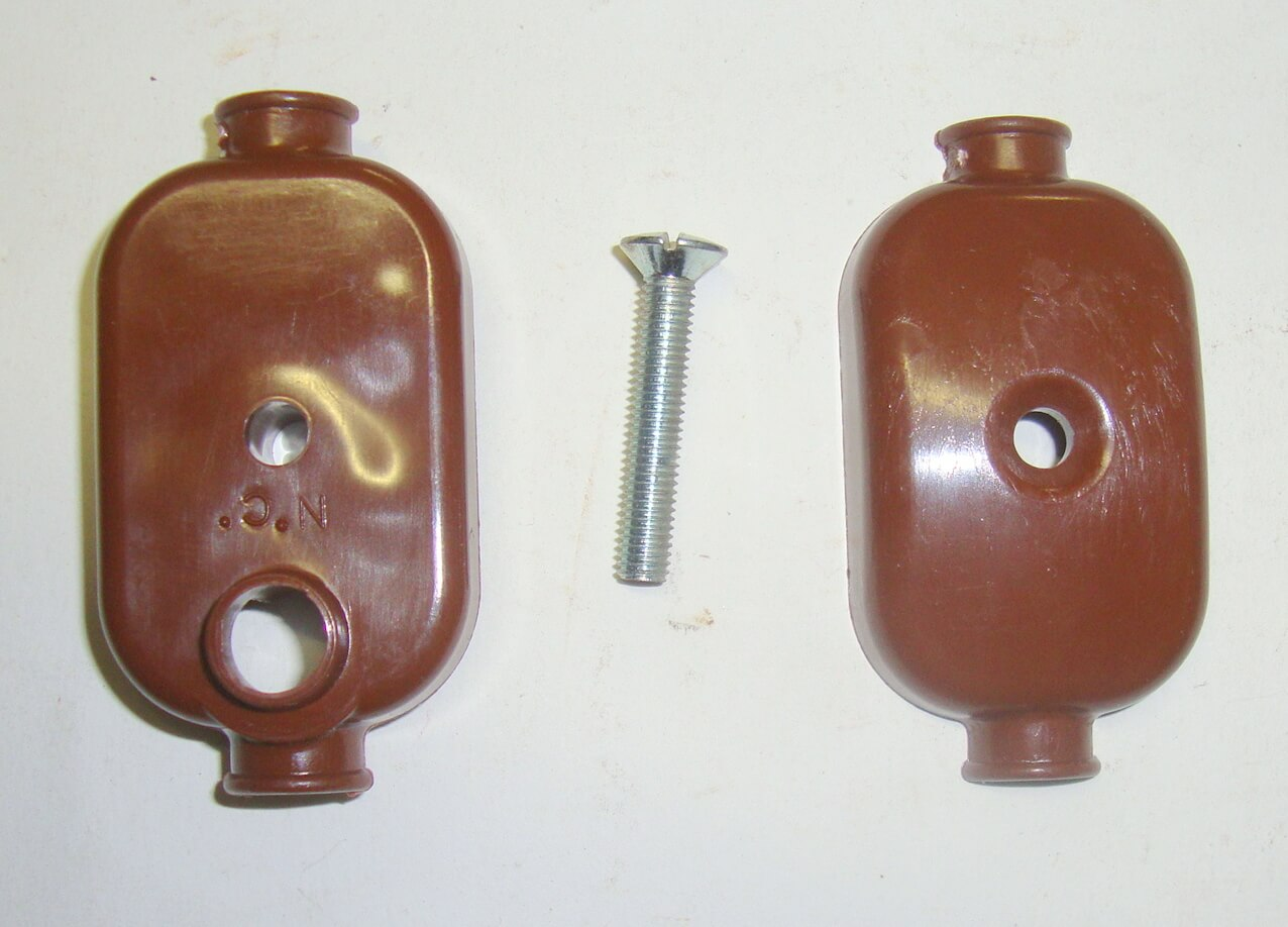 L.T. Socket, brown, Vespa 150