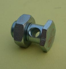 Cable screw nipple for rear brake