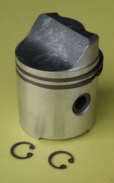 Piston, Vespa 125, 1951>1952, 58,5 mm