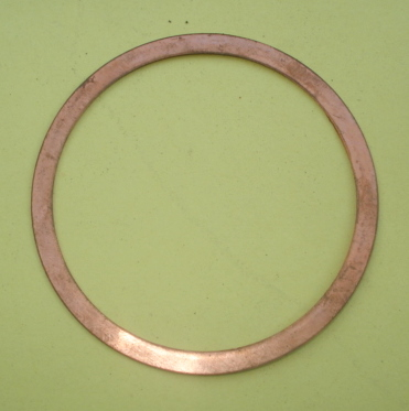 Gasket cylinder head, copper, 70/60/0,6 mm, Vespa