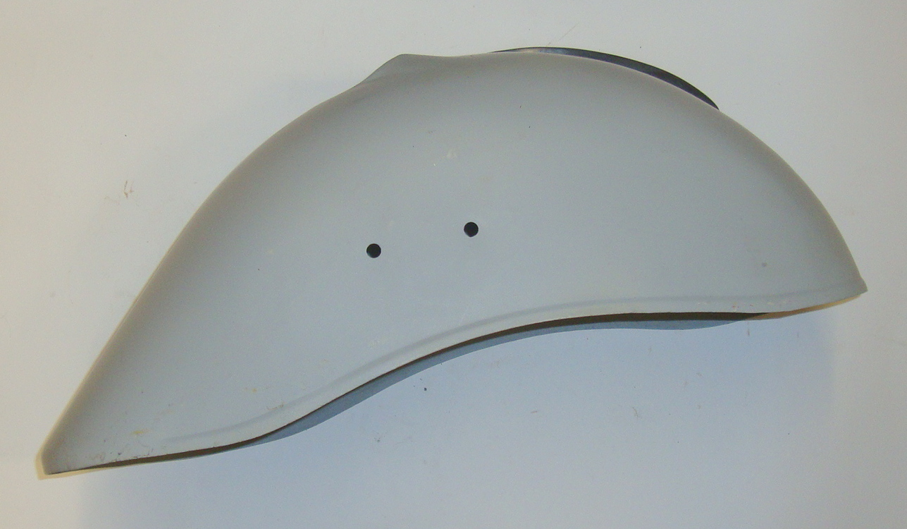 Mudguard, with crest, Vespa GS150 / T4