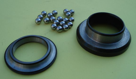Lower bearing ball track Vespa 125 VNA > 150 VGLB