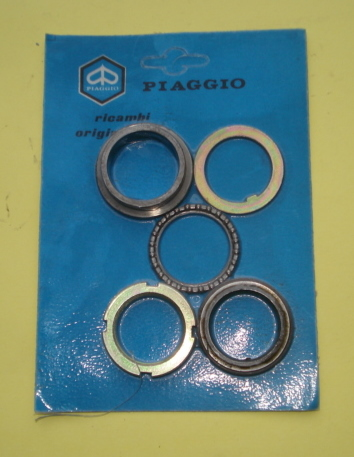 Upper bearing ball track kit, Vespa PX 125 T5