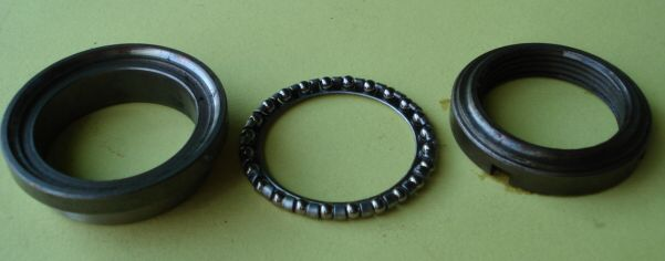 Upper bearing ball track 36,5 mm